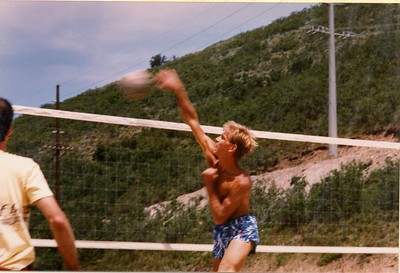 Mike's Utah VBall Photos 1985-6
