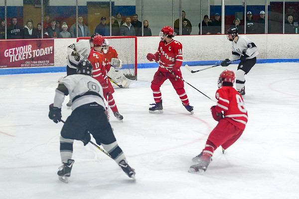 LHS Boys Hockey vs. East Longmeadow 2019