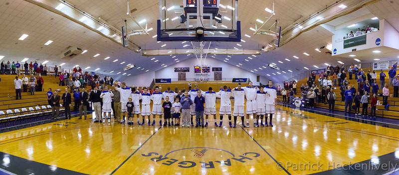 2012-12-17 Hillsdale College Men's Basketball vs. Ferris St.