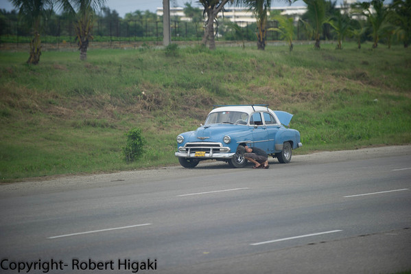 On the road again, Cuba