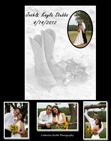 KAYLA AND JOSH STUBBS WEDDING - SEE FAMILY PAGE  FOR WEDDING IMAGES