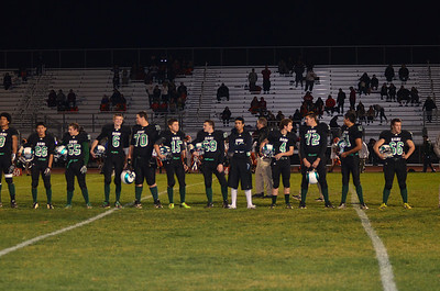 2013 Football Senior Night