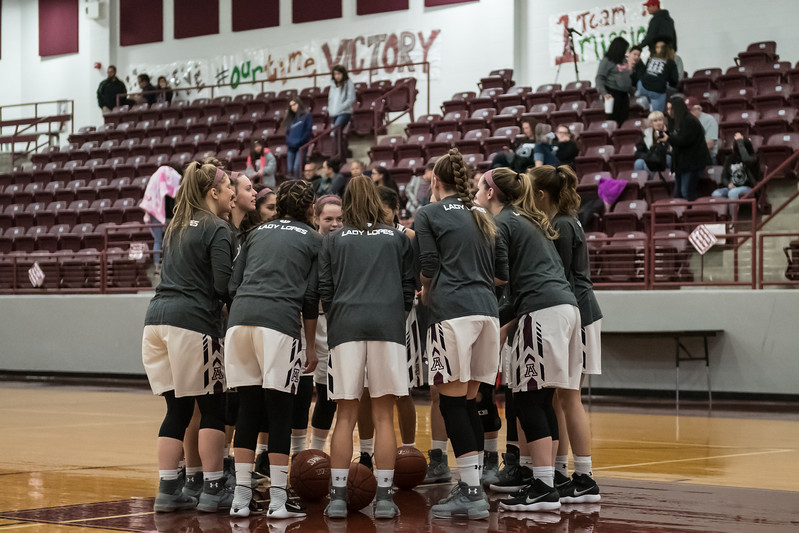 Abernathy Lady Lopes vs Bovina, ( Bi-District ), 2-12-2018