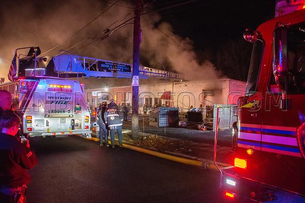 Hicksville F.D. Building Fire 5 Burns Avenue 1-25-20
