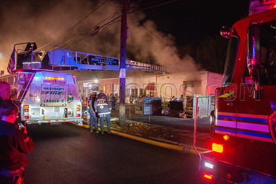 Hicksville F.D. Building Fire 5 Burns Avenue 1-25-20