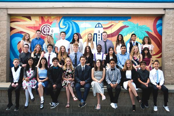 MVCS 8th Grade Graduation Portraits . 2018