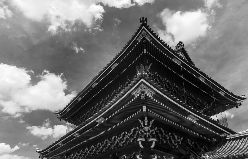 Higashi Honganji Temple, Kyoto.