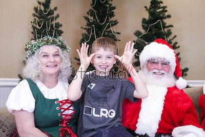 Love Olivia 2016 Santa Photos