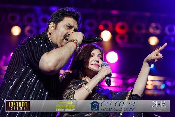 Kumar Sanu and Alka Yagnik Concert