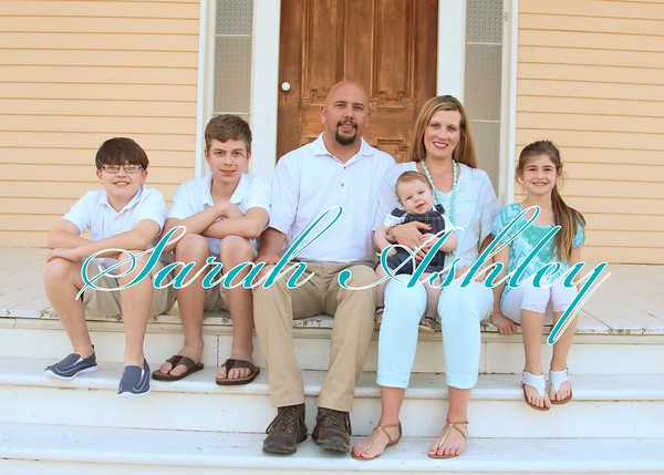 Coslet family spring pics