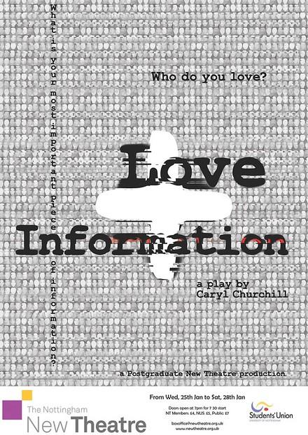 Love + Information poster