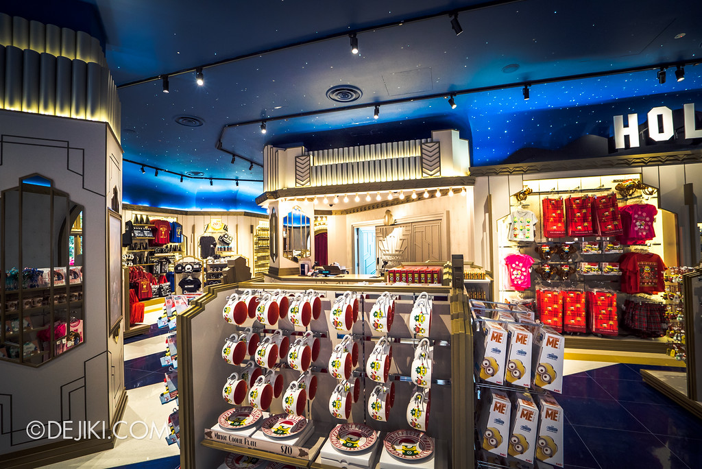 Universal Studios Singapore - Silver Screen Store - Movies collection, Minions