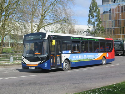 SALISBURY WINCHESTER BASINGSTOKE BUSES MARCH 2020