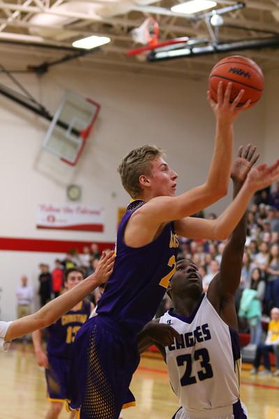 Basketball Regionals vs Schoolcraft - KCHS  - 3/12/18