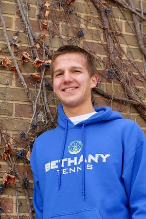 Ben at Goshen College