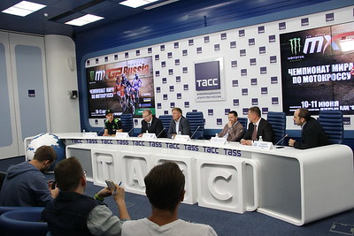 MXGP of Russia Press-conference 30 may