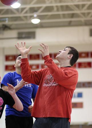 SNHS Boys Basketball vs Faculty 2014