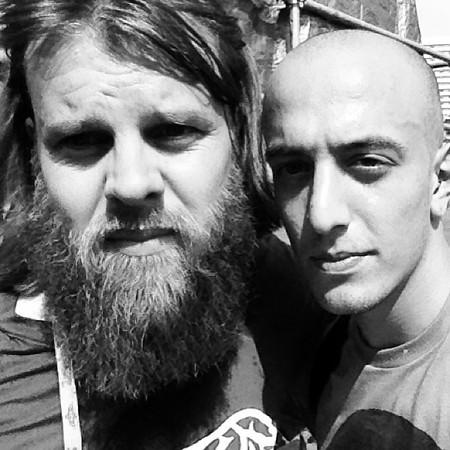 Adam Elmakias and Kane Hibberd