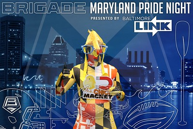 Baltimore Brigade Maryland Pride Night: 8/4/2017
