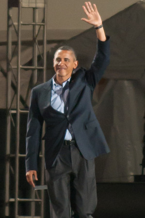 Obama in Hyde Park (Oct 10)