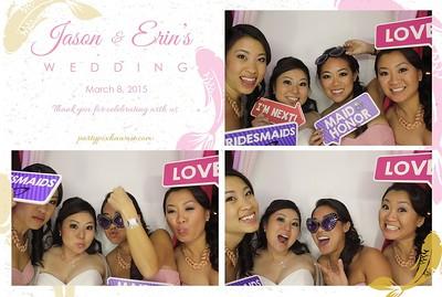 Erin & Jason's Wedding (Luxury Photo Booth)