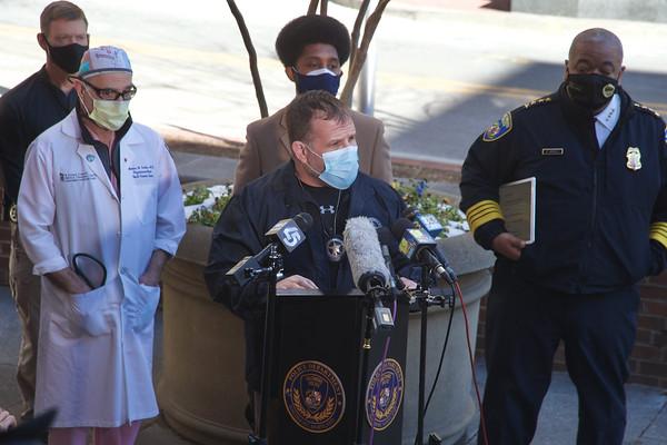 Press Conference - US Marshal Shooting