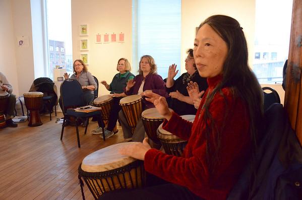 Drumming Class at Lichtenstein Center-04714