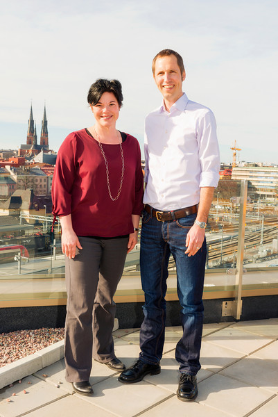 Marlene Burwick och Erik Pelling