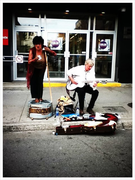 Jazz duo in Montreal