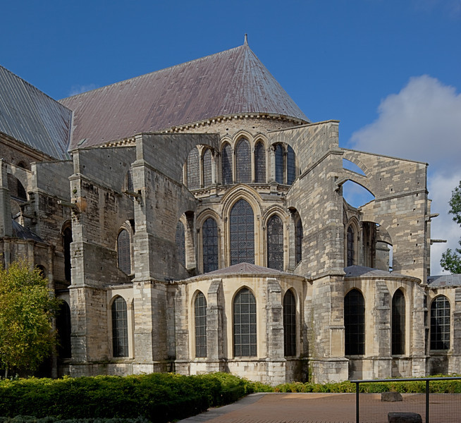 Reims, Saint-Remi Basilica Chevet