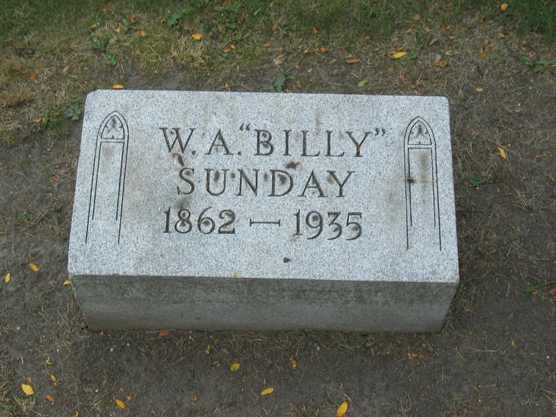 W.A. 'Billy' Sunday