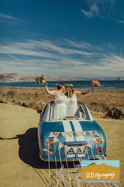 Mandy+Irma ~ Married in Morro Bay <3