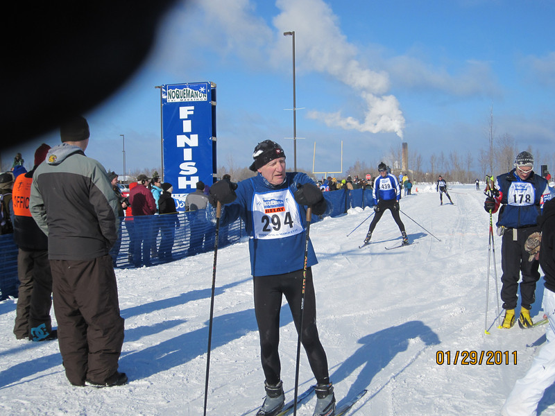 Terry Kureth, partnered with Hap Wright for 3rd place in 51K relay.