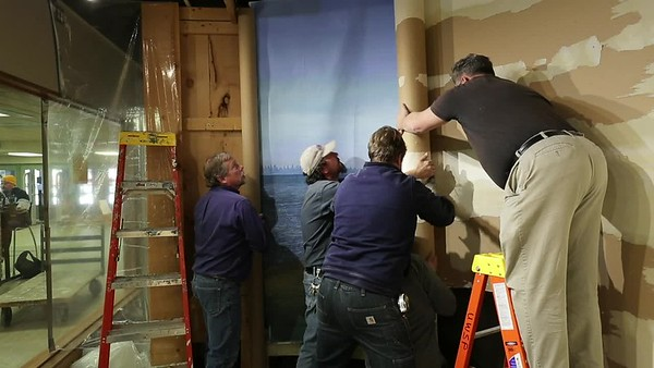 Museum of Natural History - Mural Removal