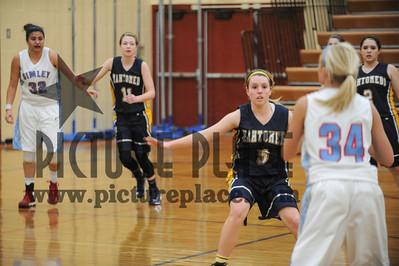 MHS Girls Basketball Action Vs. Simley