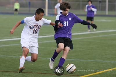 Minneapolis Southwest v Wayzata Boys Soccer Sectional Semi-Finals 10-17-11