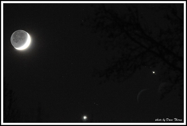 Moon, Jupiter and Venus Dec 2008