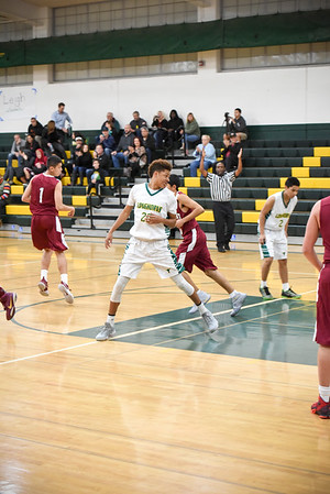 Leigh Varsity Basketball vs. Fremont 12/1/16