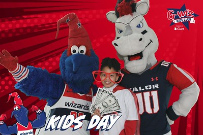Washington Wizards Kids Day: 3/3/2019