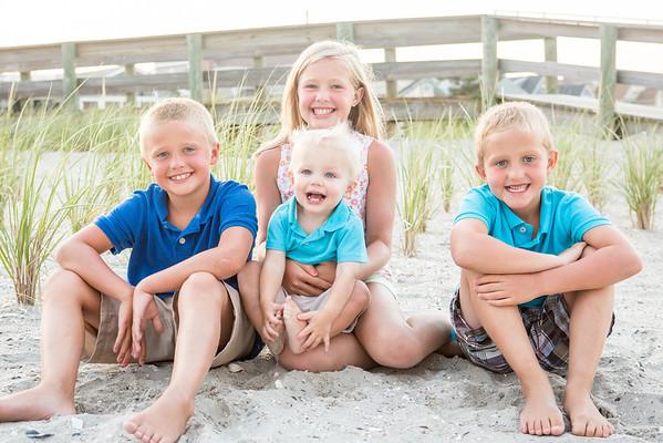 McCormack Family Beach Portraits