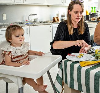 Lilja, Maria, Ayoe, Bryndis, på Vagtelvej  2019