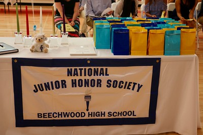 NHS and NJHS Induction Ceremony 2017