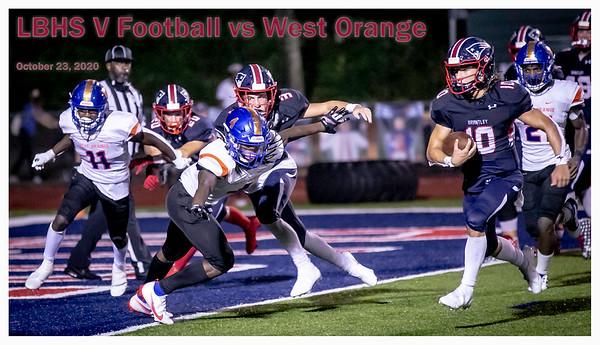 LBHS V FB vs West Orange - Oct 23, 2020