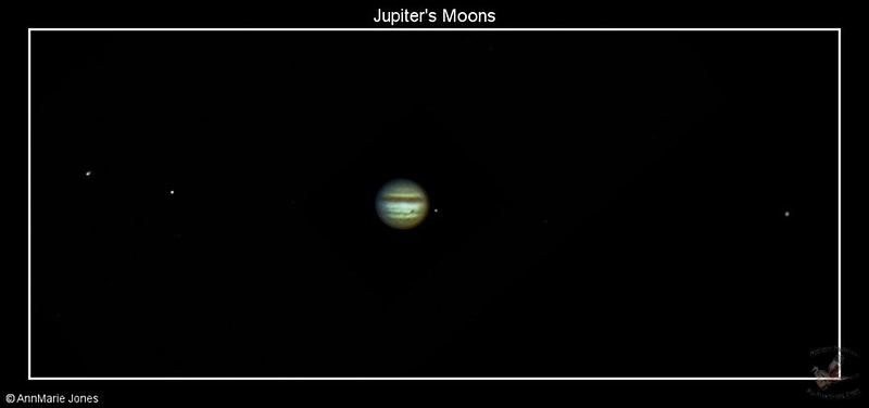 Photographing Jupiter with her moons