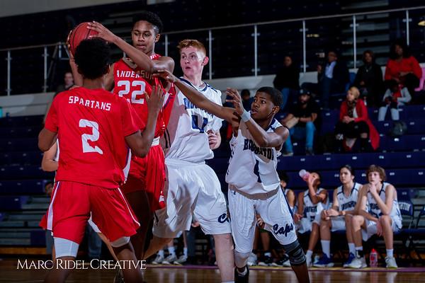 Broughton boys JV basketball vs Sanderson. February 11, 2019. 750_5702