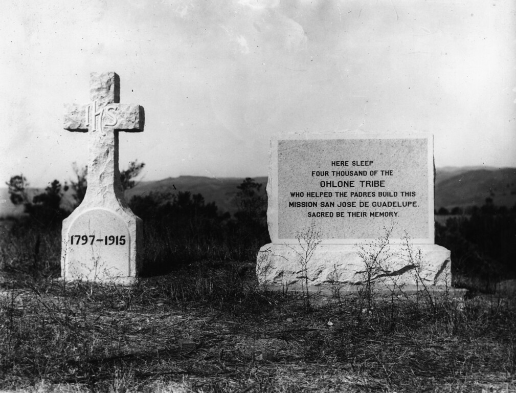 . Cemetery of the Ohlone Indians. (Oakland Tribune Staff Archives)