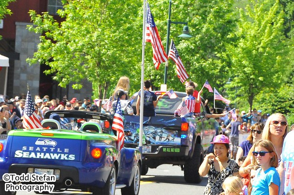 05-29-2017 Mill Creek Memorial Day Veterans Parade with Wheels of Boom
