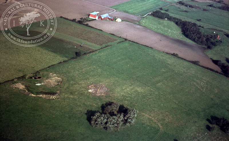Pangs mound, 1,2km southeast Brunnby Church | EE.1273