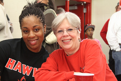Post-game Reception (February 25, 2012)