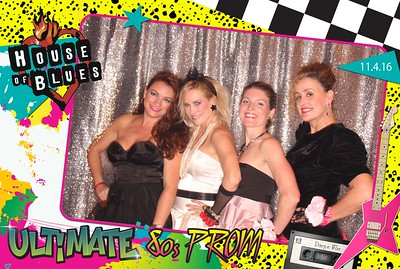 Ultimate 80s Prom 11.04.16 @ House of Blues